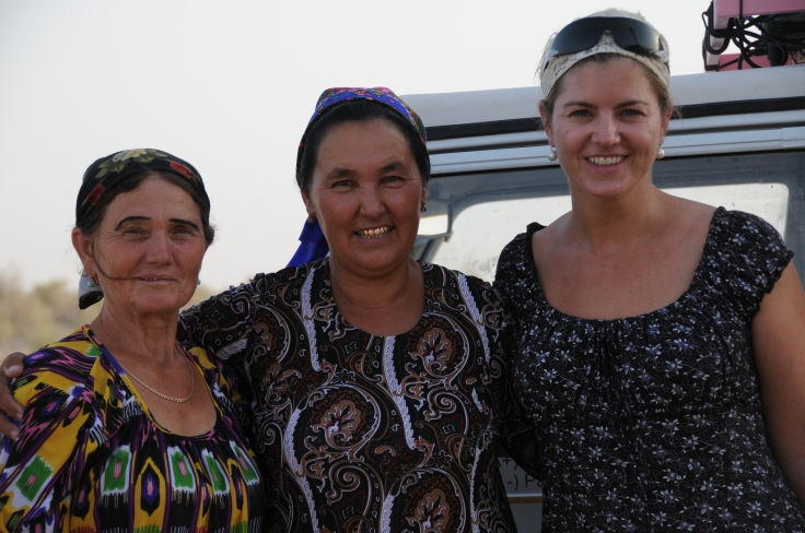 Mujeres conductoras en Uzbekistán